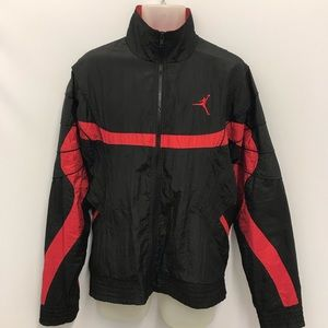 Nike Flight Jordan Windbreaker Nylon Jacket SZ L